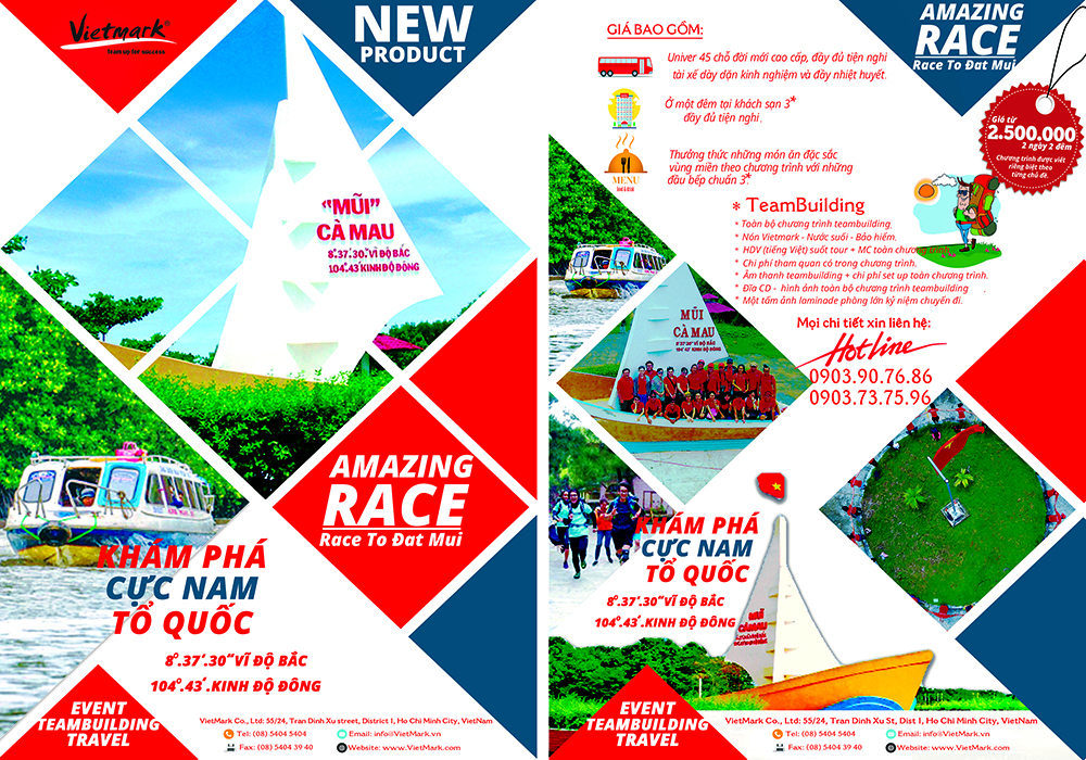 Ca Mau cape Amazing Race - New Product for 2017