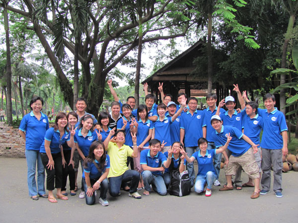 Intresco teambuilding - Long Sơn