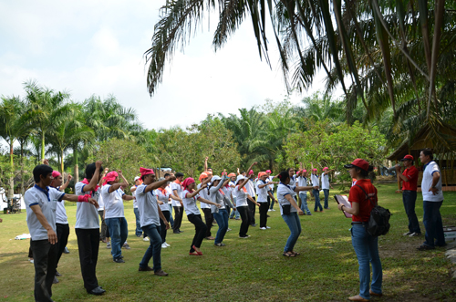 Merap Group teambuilding